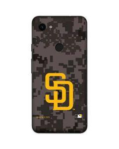 San Diego Padres Camouflage #2 Google Pixel 3a Skin