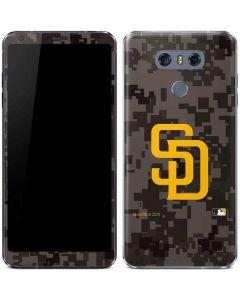 San Diego Padres Camouflage #2 LG G6 Skin