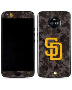 San Diego Padres Camouflage #2 Moto X4 Skin