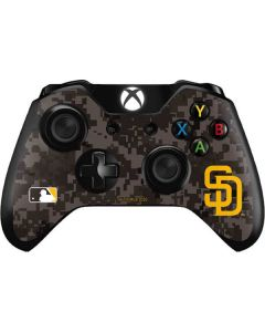 San Diego Padres Camouflage #2 Xbox One Controller Skin