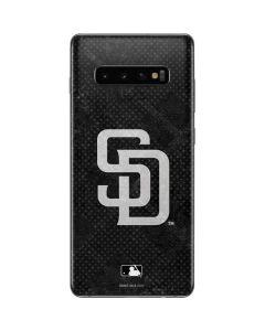 San Diego Padres Dark Wash Galaxy S10 Plus Skin