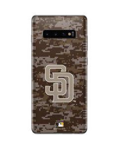 San Diego Padres Digi Camo Galaxy S10 Plus Skin