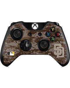 San Diego Padres Digi Camo Xbox One Controller Skin