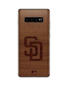San Diego Padres Engraved Galaxy S10 Plus Skin
