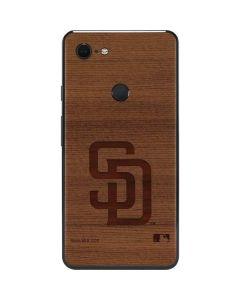 San Diego Padres Engraved Google Pixel 3 XL Skin
