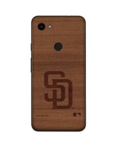 San Diego Padres Engraved Google Pixel 3a Skin