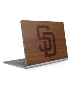 San Diego Padres Engraved Surface Book 2 13.5in Skin
