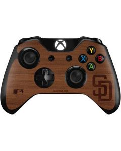 San Diego Padres Engraved Xbox One Controller Skin