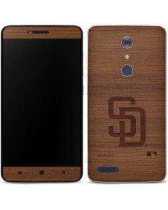San Diego Padres Engraved ZTE ZMAX Pro Skin