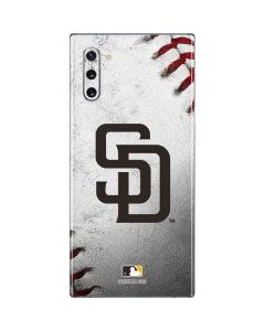 San Diego Padres Game Ball Galaxy Note 10 Skin