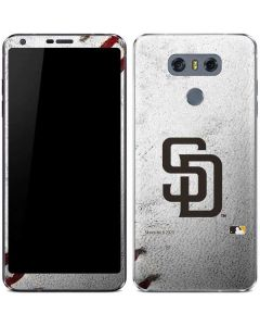 San Diego Padres Game Ball LG G6 Skin