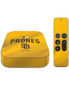 San Diego Padres Home Jersey Apple TV Skin