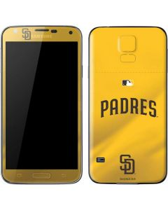 San Diego Padres Home Jersey Galaxy S5 Skin