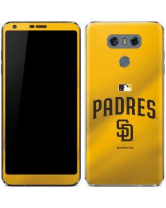 San Diego Padres Home Jersey LG G6 Skin