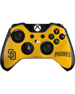 San Diego Padres Home Jersey Xbox One Controller Skin