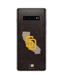 San Diego Padres Home Turf Galaxy S10 Plus Skin