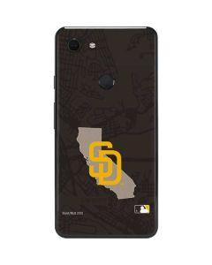 San Diego Padres Home Turf Google Pixel 3 XL Skin