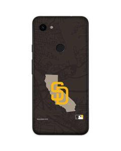 San Diego Padres Home Turf Google Pixel 3a Skin