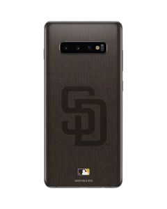 San Diego Padres Monotone Galaxy S10 Plus Skin