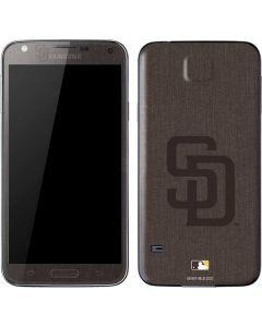 San Diego Padres Monotone Galaxy S5 Skin