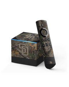 San Diego Padres Realtree Xtra Camo Fire TV Cube Skin