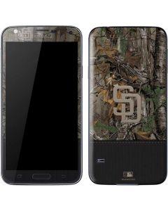 San Diego Padres Realtree Xtra Camo Galaxy S5 Skin