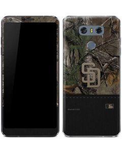 San Diego Padres Realtree Xtra Camo LG G6 Skin