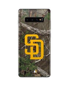 San Diego Padres Realtree Xtra Green Camo Galaxy S10 Plus Skin