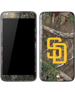 San Diego Padres Realtree Xtra Green Camo Galaxy S5 Skin