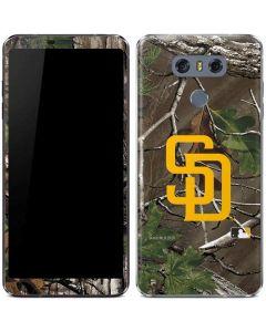 San Diego Padres Realtree Xtra Green Camo LG G6 Skin