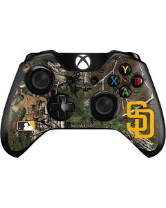 San Diego Padres Realtree Xtra Green Camo Xbox One Controller Skin