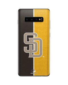 San Diego Padres Split Galaxy S10 Plus Skin