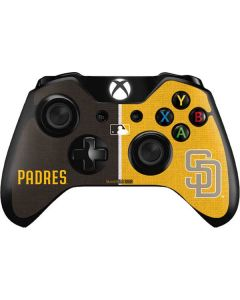 San Diego Padres Split Xbox One Controller Skin