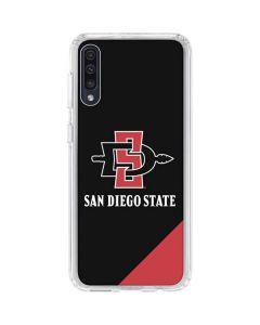 San Diego State Galaxy A50 Clear Case