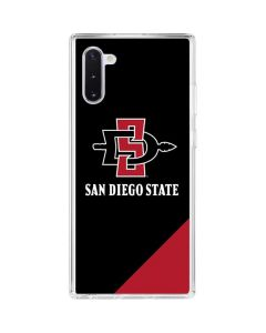 San Diego State Galaxy Note 10 Clear Case