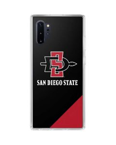 San Diego State Galaxy Note 10 Plus Clear Case