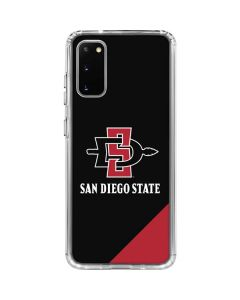 San Diego State Galaxy S20 Clear Case