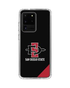 San Diego State Galaxy S20 Ultra 5G Clear Case