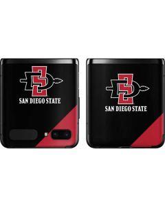 San Diego State Galaxy Z Flip Skin