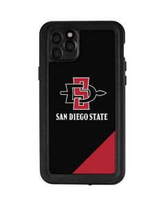 San Diego State iPhone 11 Pro Max Waterproof Case