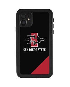 San Diego State iPhone 11 Waterproof Case