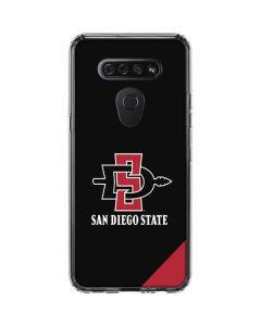 San Diego State LG K51/Q51 Clear Case