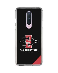 San Diego State OnePlus 8 Clear Case