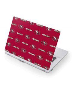 San Francisco 49ers Blitz Series Acer Chromebook Skin