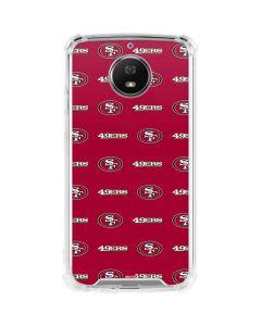 San Francisco 49ers Blitz Series Moto G5S Plus Clear Case