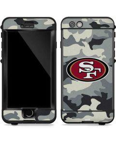 San Francisco 49ers Camo LifeProof Nuud iPhone Skin