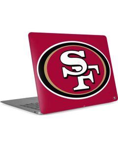 San Francisco 49ers Large Logo Apple MacBook Air Skin