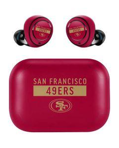 San Francisco 49ers Red Performance Series Amazon Echo Buds Skin