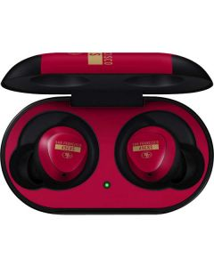 San Francisco 49ers Red Performance Series Galaxy Buds Skin