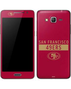 San Francisco 49ers Red Performance Series Galaxy Grand Prime Skin